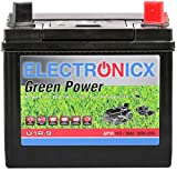 U1R 30Ah 300A Green Power Batterie Rasentraktor Aufsitzrasen...