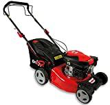 Grizzly Tools Benzin-Rasenmäher mit Hinterradantrieb - 4-Ta...