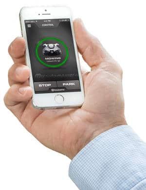 Mähroboter mit GPS