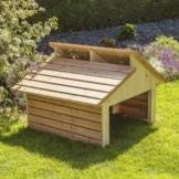 Mähroboter Garage RoboGard Home aus Holz